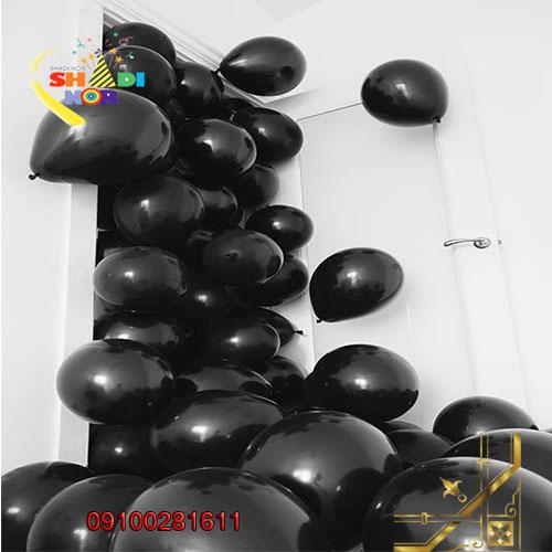 فروش-عمده-بادکنک-تولد-مشکی-سیاه-مرکز-پخش-کلی-بادکنک-های-کروم-پاستیلی-و-ساده-تک-رنگ-