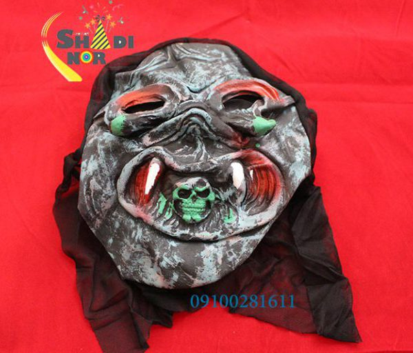 ماسک هالووین - فروش خرید عمده ماسک ترسناک شوخی ماسک صورت وحشتناک هالویین