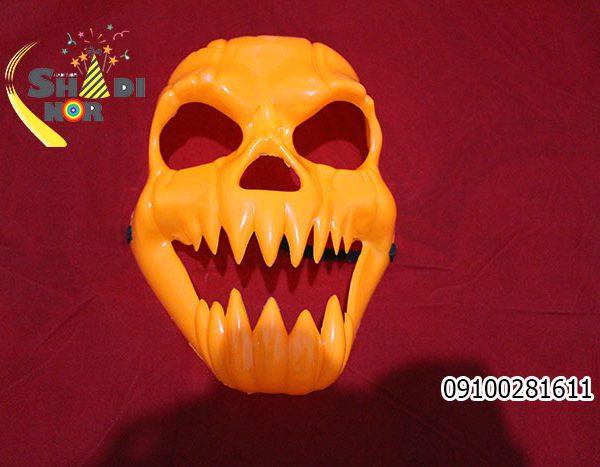ماسک هالووین - ماسک لبخند وحشت شوخی شعبده بازی فروش عمده لوازم و وسایل هالووینی