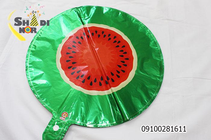 بادکنک فویلی یلدا - بادکنک هندوانه گرد خارجی هلیوم خور عمده فروش شادینور
