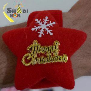 دستبند کریسمس - مچ بند کریسمسی مدارس گیفیت