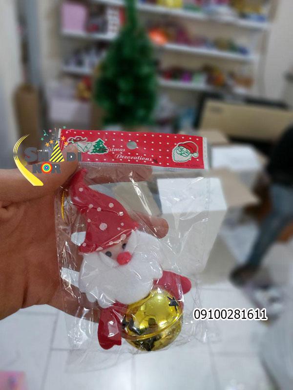 زنگوله آویز کریسمس برای جشن بابانوئل