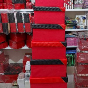 جعبه 10 سایز عمده چرم فروش عمده لوازم ولنتاین و کادویی پخش جعبه کادو