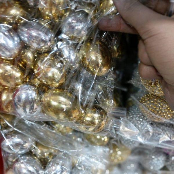 فروش عمده تخم مرغ های براق تزیینی - پخش عمده لوازم عید نوروز