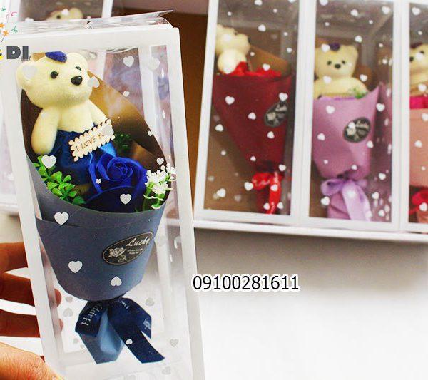 خرس و دسته گل - فروش کلی جعبه کادویی و لوازم تزیینی