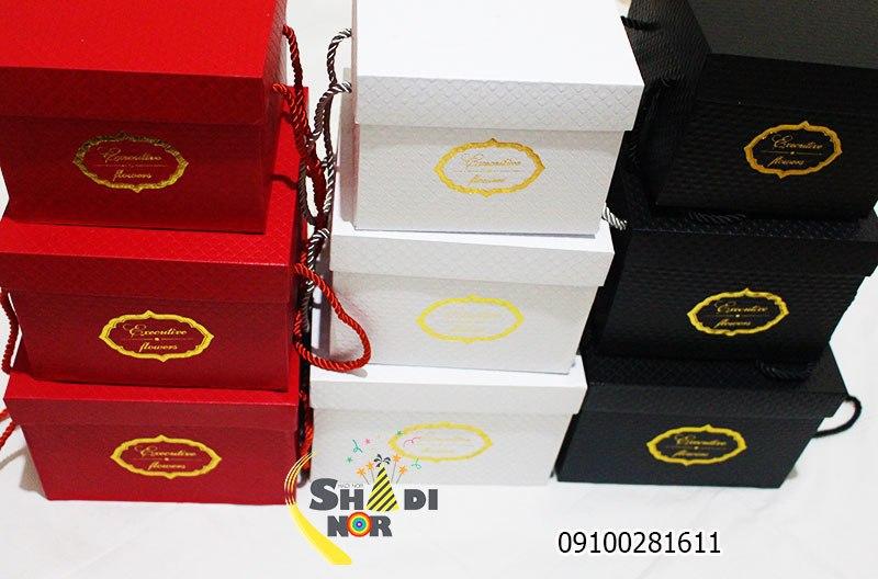 جعجعبه لاکچری سه سایز خارجی - فروش کلی جعبه کادویی و لوازم تزیینی