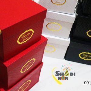 جعبه لاکچری سه سایز خارجی - فروش کلی جعبه کادویی و لوازم تزیینی