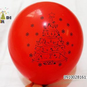 فروش عمده بادکنک لاتکس طرح کریسمس