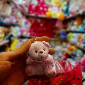 فروش عمده انواع عروسک آویزانی طرح موشی و خرسی