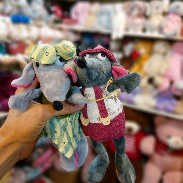 فروش عمده انواع عروسک موشی فانتزی و بامزه