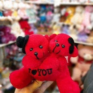 خرید و فروش عمده انواع عروسک خرسی ولنتاین