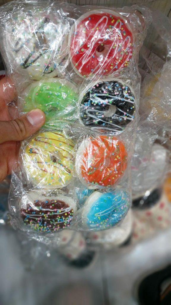 قیمت عمده محصولات ضد استرس انواع اسکویشی عروسکی ،دونات