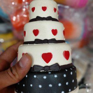 قیمت عمده محصولات ضد استرس انواع اسکویشی کیک ،پاپ کرن