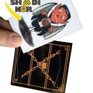 قیمت عمده لوازم شعبده بازی کارت زندانی