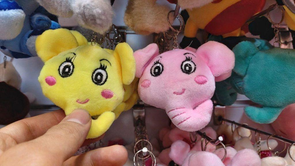 سفارش عمده انواع آویزانی عروسک باب اسفنجی ،فیل