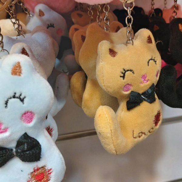 قیمت عمده انواع آویزانی عروسک گربه ،موش