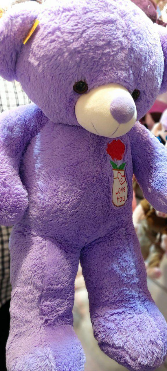 خرید عمده انواع اسباب بازی های جذاب عروسک خرسی بزرگ
