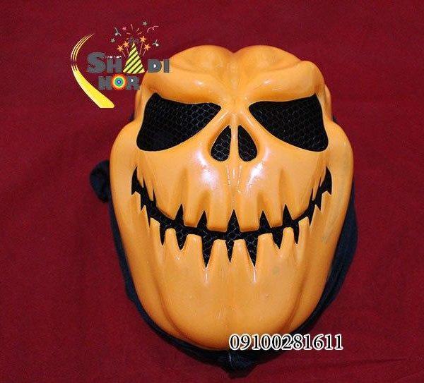 قیمت عمده لوازم هالووین ماسک لبخند هالووین با شنل
