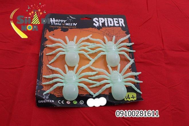 خرید عمده لوازم هالووین محصول عنکبوت شبتاب