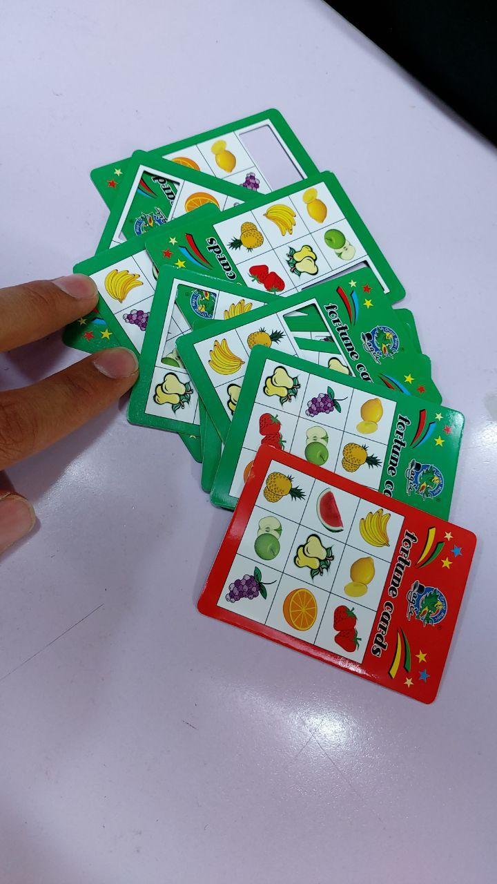 قیمت عمده لوازم شعبده بازی محصول کارت تشخیص میوه