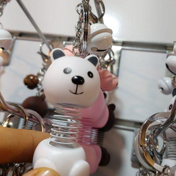 پخش عمده انواع آویزانی و جاسوییچی طرح اسکلت ،خرگوش،خرس فنری