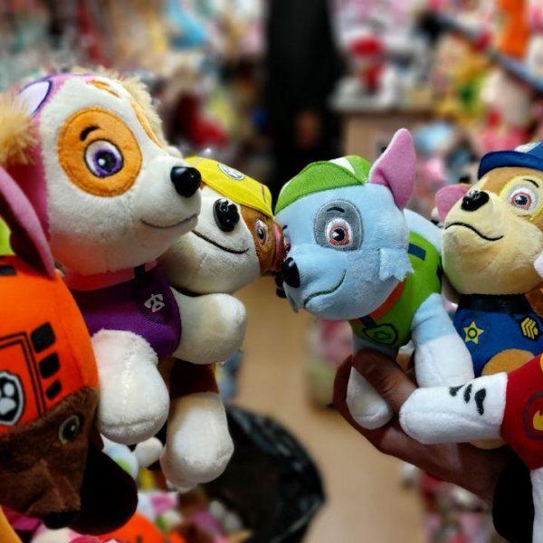 سفارش عمده انواع اسباب بازی و عروسک سگ با لباس انواع مشاغل