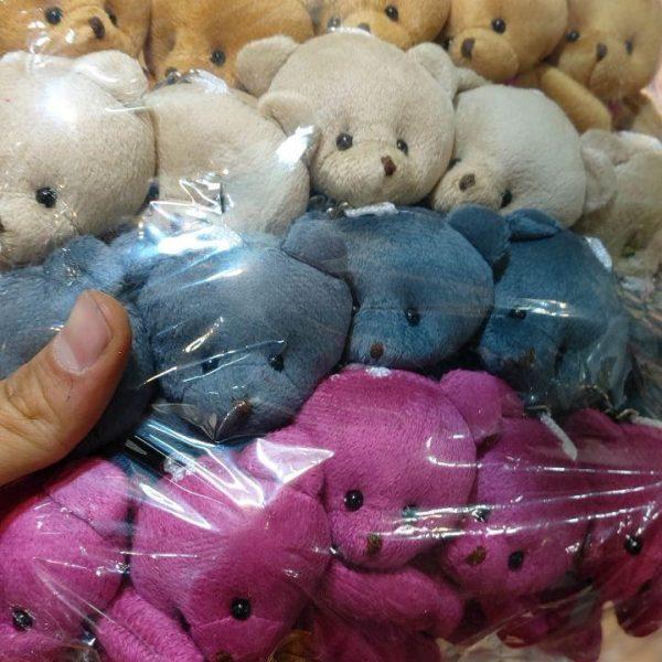 قیمت عمده انواع اسباب بازی و عروسک خرسی بسته ایی