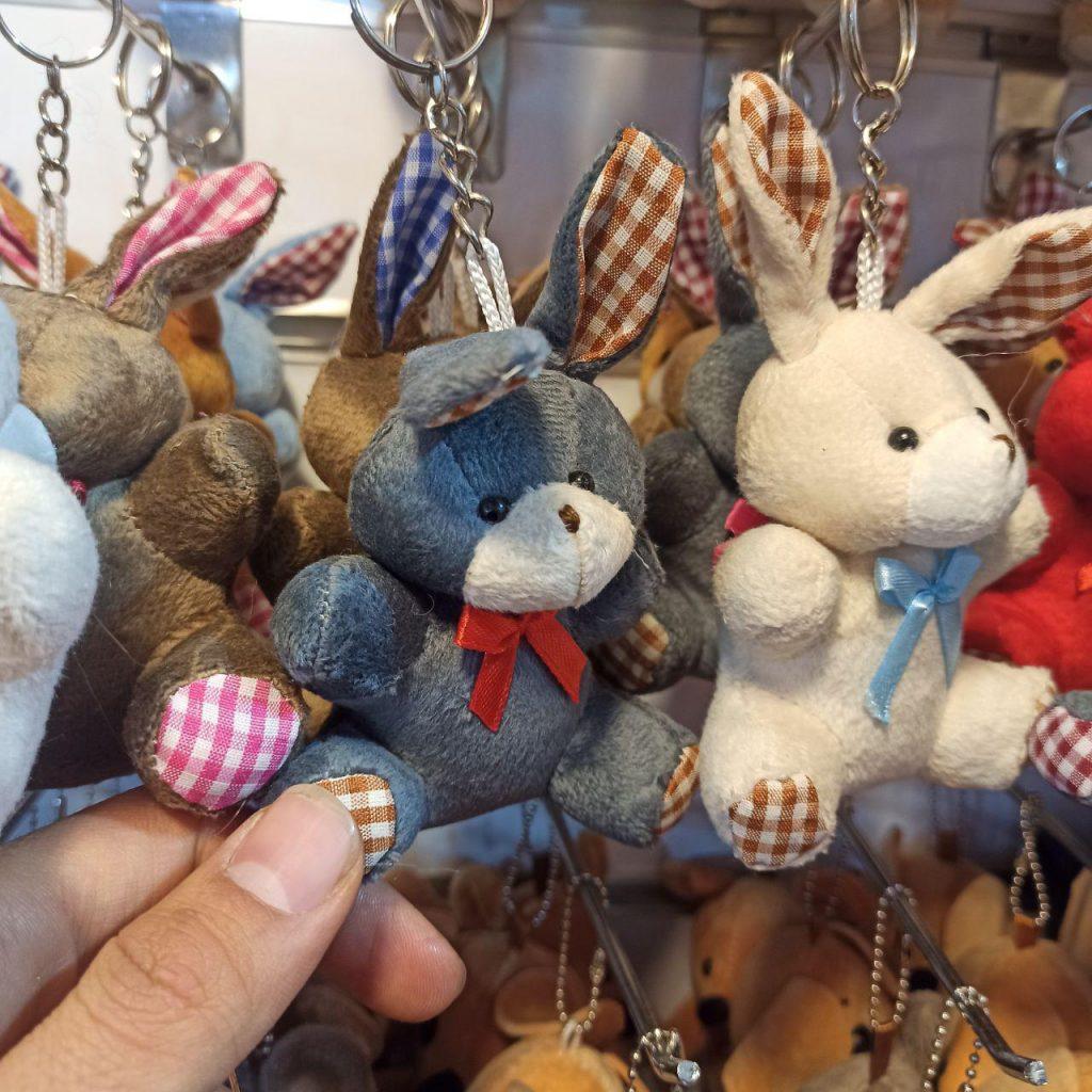 خرید عمده انواع عروسک آویزانی موشی ،خرگوش