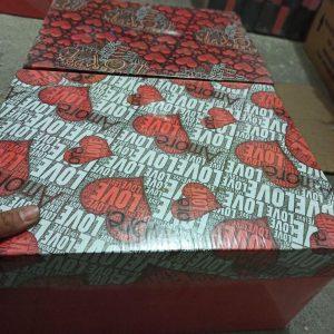 پخش عمده لوازم ولنتاین انواع جعبه کادو