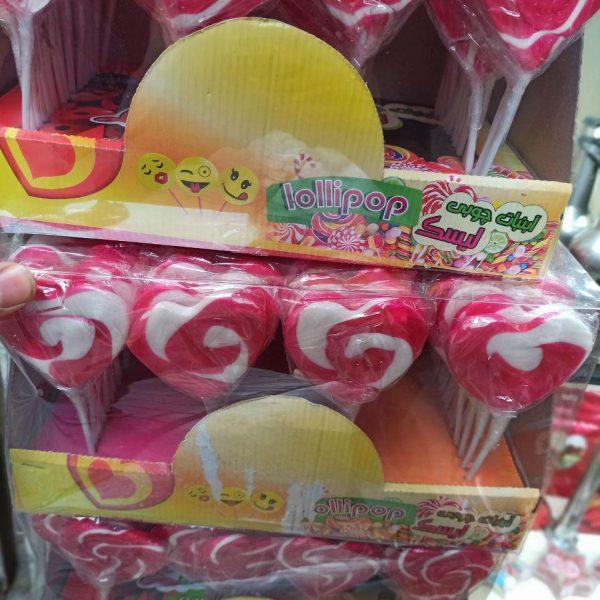 پخش عمده لوازم ولنتاین و کادویی آبنبات قلبی ولنتاین
