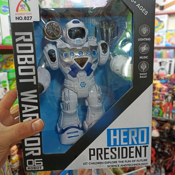 پخش عمده اسباب بازی های زیبا ربات تیرانداز هیرو